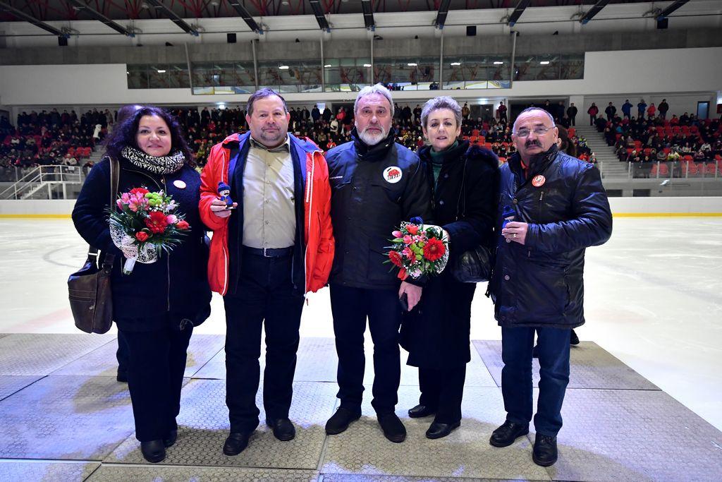Toți oamenii patinoarului din Tîrgu Secuiesc