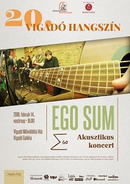 Akusztikus koncert az Ego Sum zenekarral