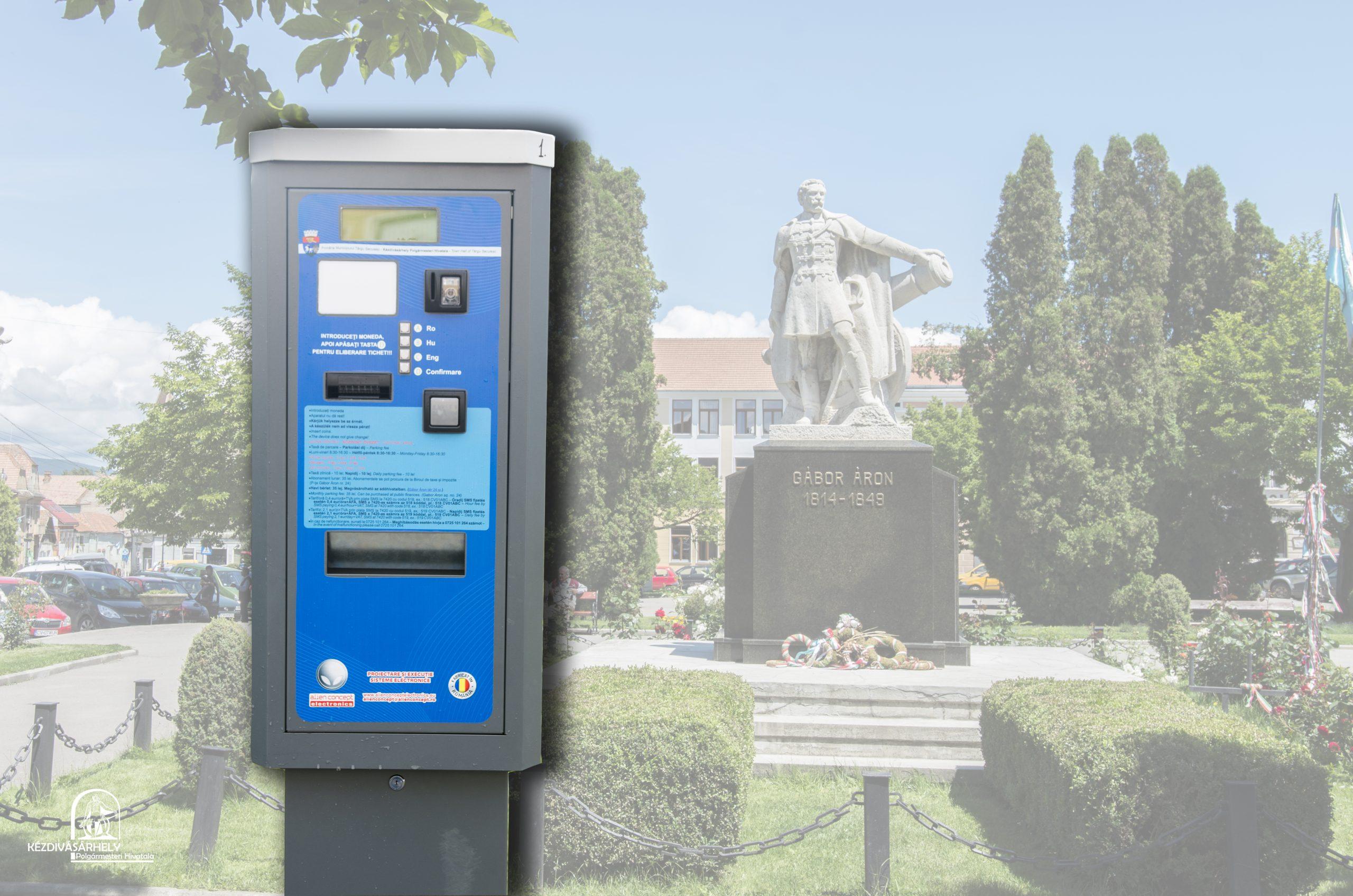 November 2-től újra fizetőssé válik a parkolás Kézdivásárhelyen