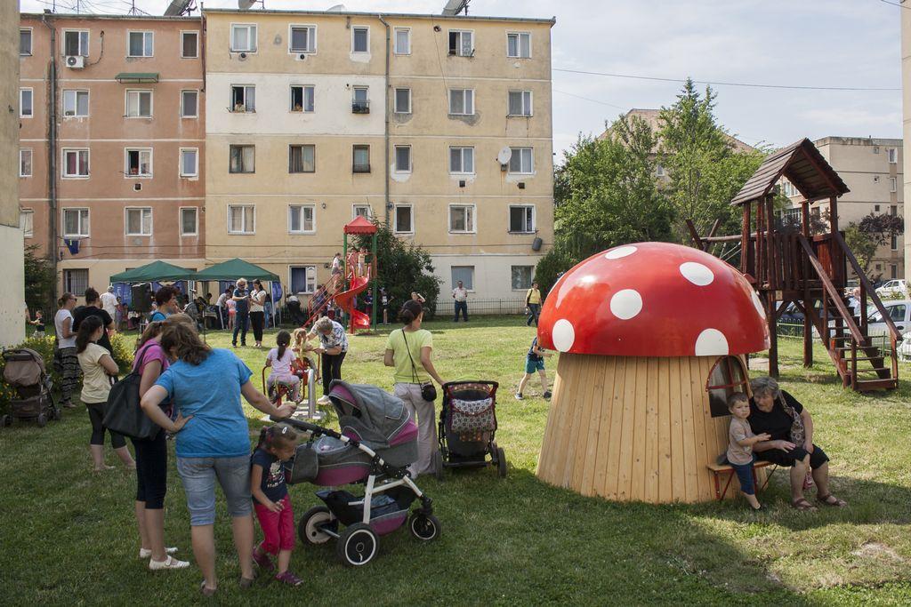 Un nou parc de joacă la Târgu Secuiesc