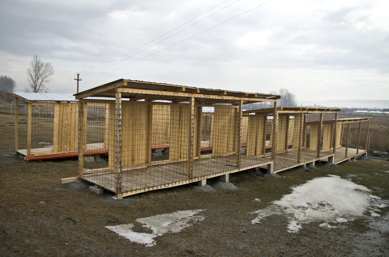 A hónap végéig elkészül a kutyamenhely