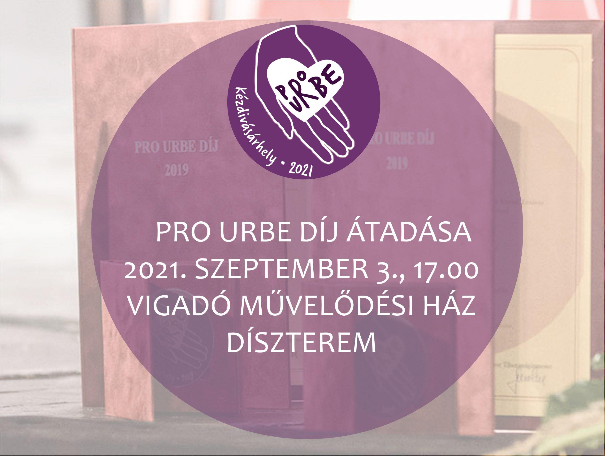 Dr. Biró Gábor kapja a Pro Urbe díjat