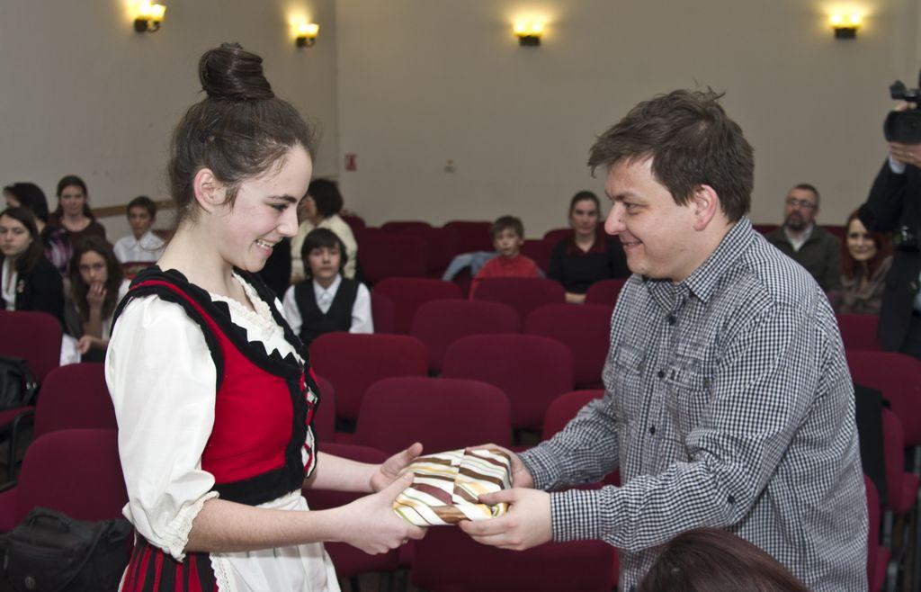 Gábor Áron szavalóverseny