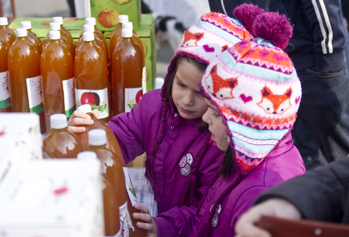 Népszerű a hagyományostermék-vásár