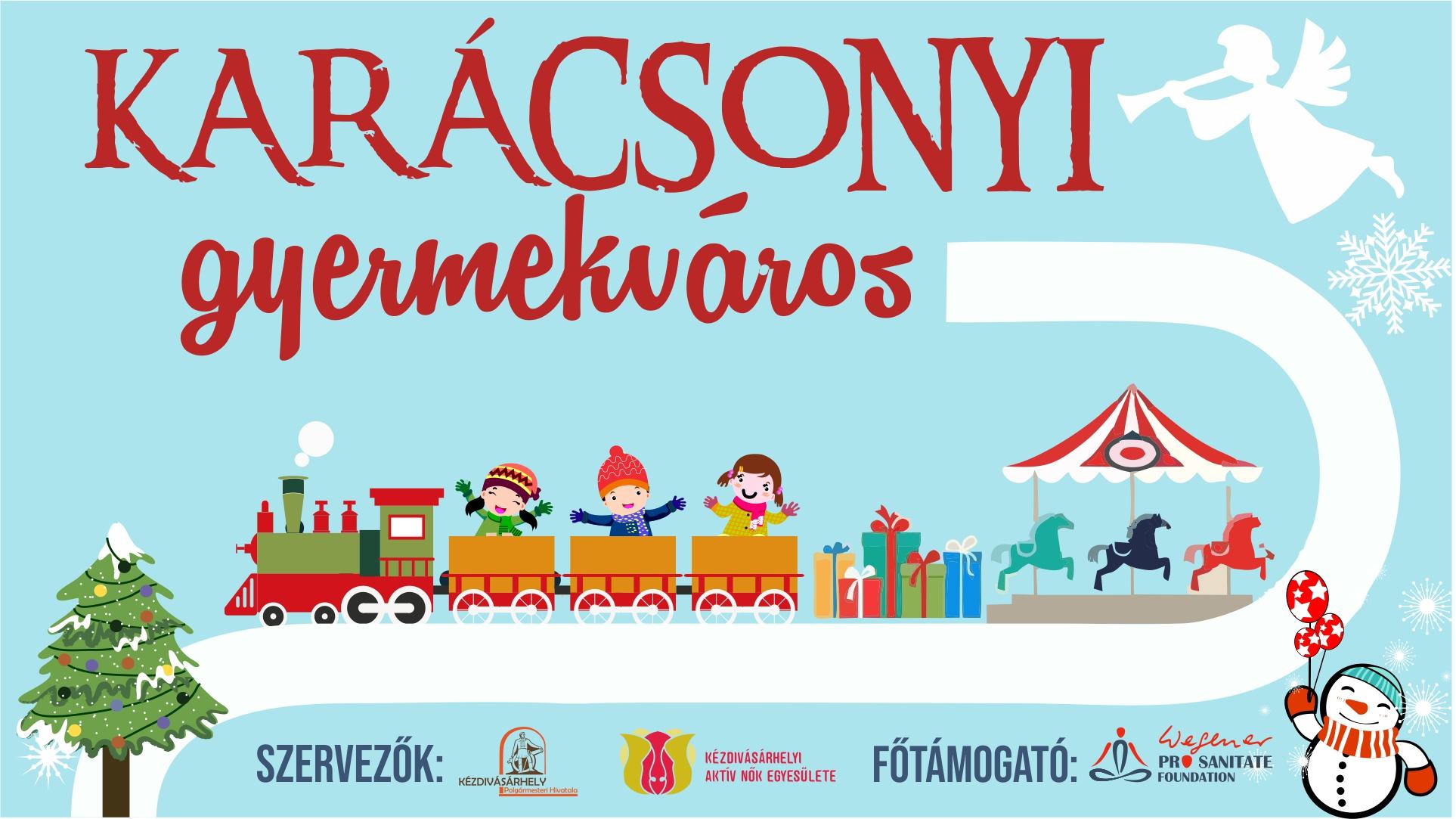 A Karácsonyi Gyermekváros idén is megnyitja kapuit!