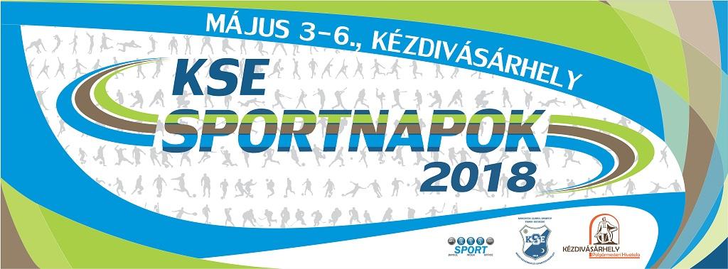 Elkészült a KSE Sportnapok programja