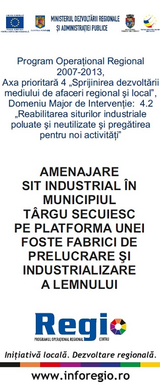 Amenajare Sit Industrial