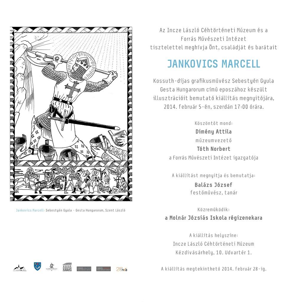 Jankovics Marcell kiállítása a múzeumban