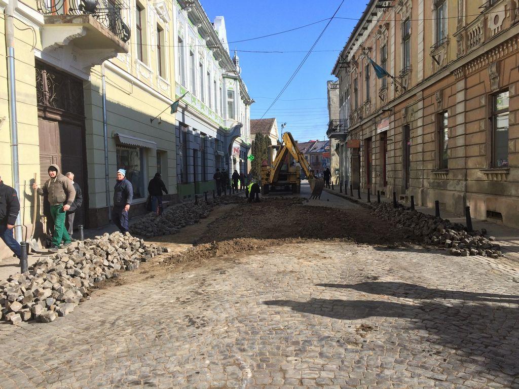 Se efectuează înfrumusețări la Târgu Secuiesc
