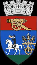 Kezdivásárhely címer