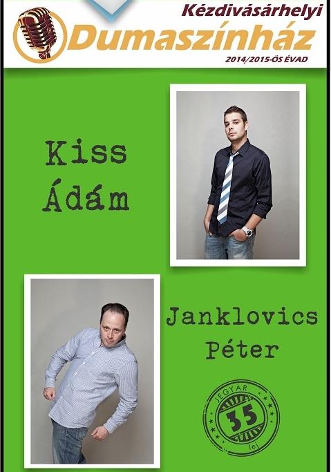 Kiss Ádám și Janklovics Péter la Târgu Secuiesc