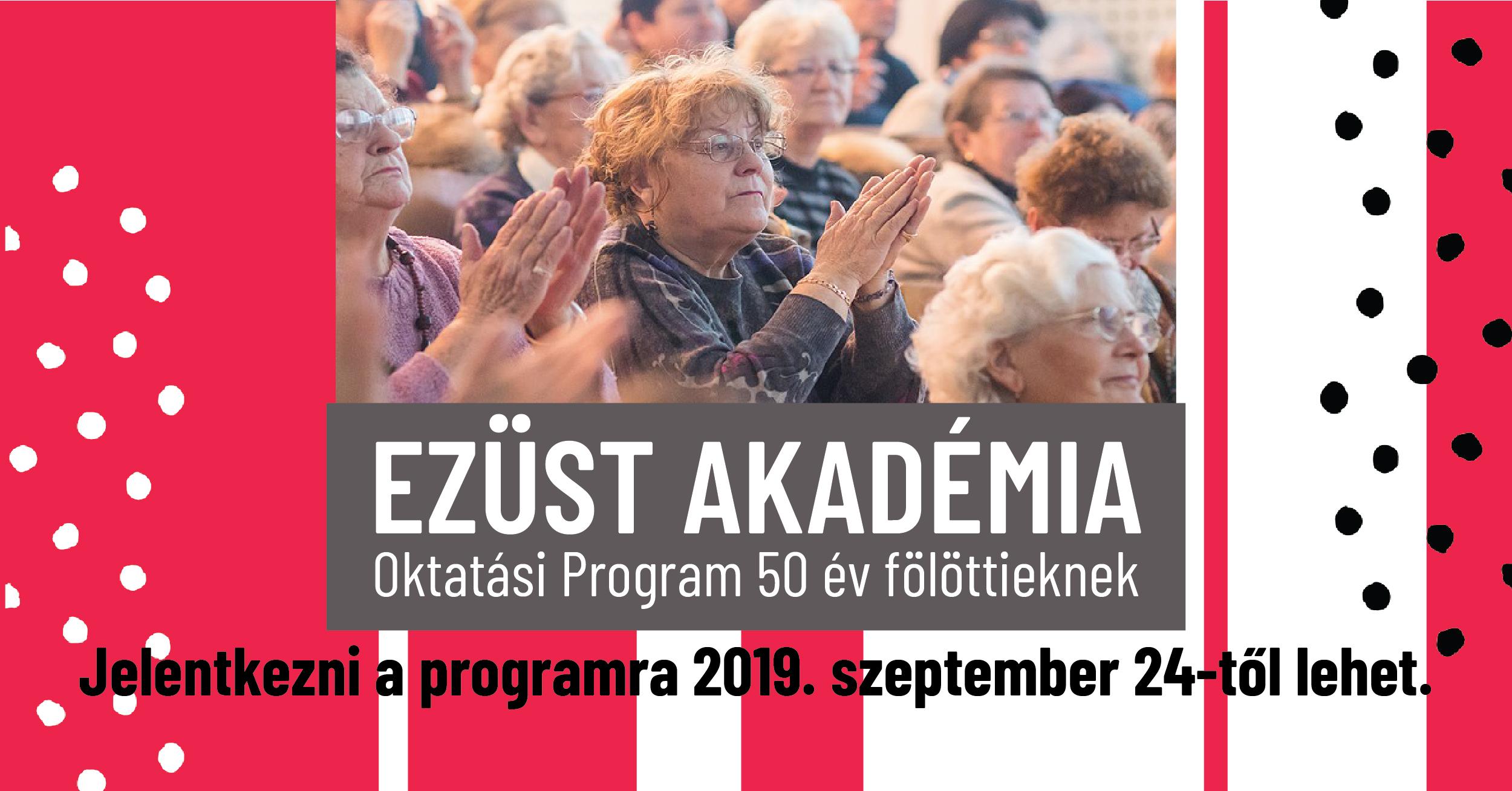 Az Ezüst Akadémia Oktatási Program új tanévet indít