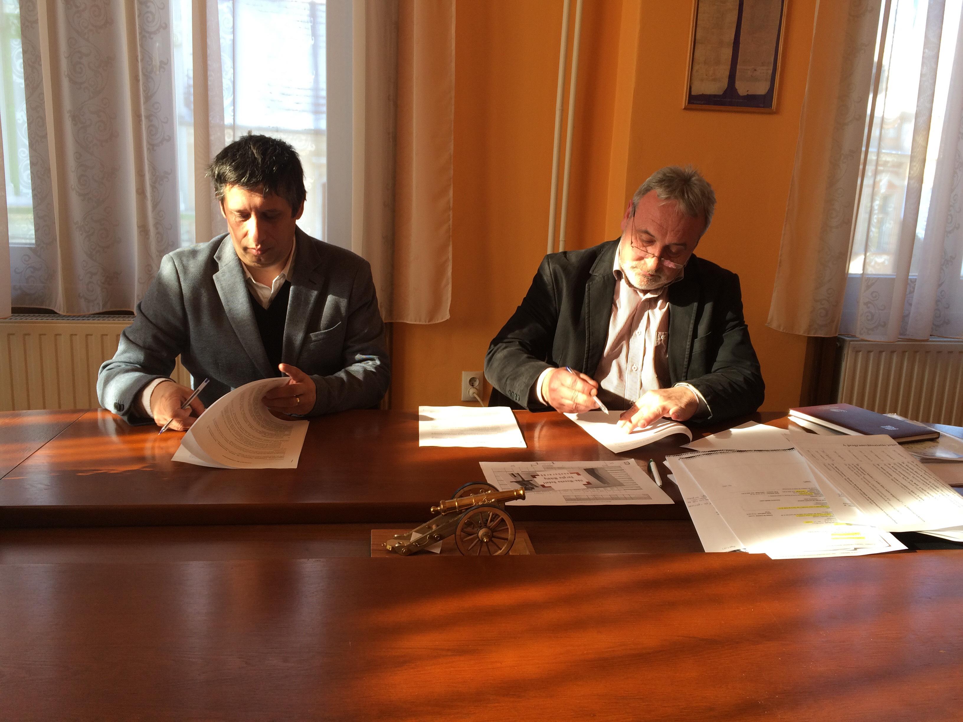 Együttműködési megállapodás a Sapientia és az Önkormányzat között